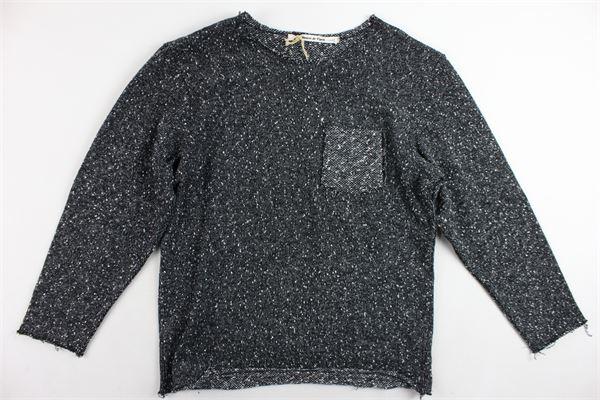 maglione girocollo con taschino PREMIER DE PARIS | Maglie | JM1802NERO