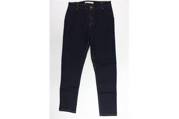 jeans tasca america tinta unita PREMIER DE PARIS | Jeans | RIDGE-JR/180/00BLU