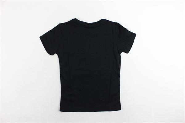 t-shirt mezza manica tinta unita con stampa PYREX | T-shirts | 017077NERO
