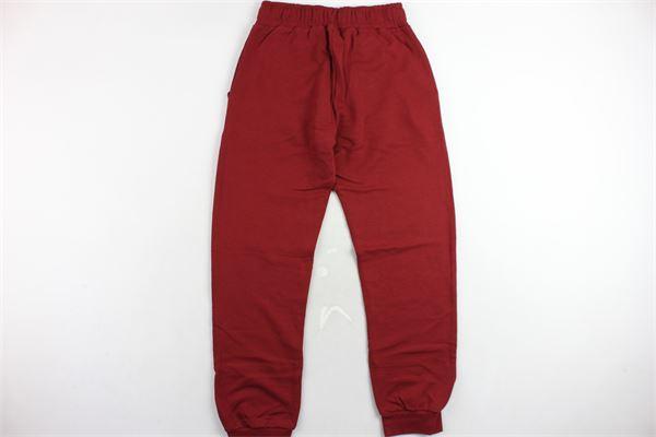 pantalone tuta felpato tinta unita con stampa PYREX | Pantaloni | 18IPB34233BORDEAUX