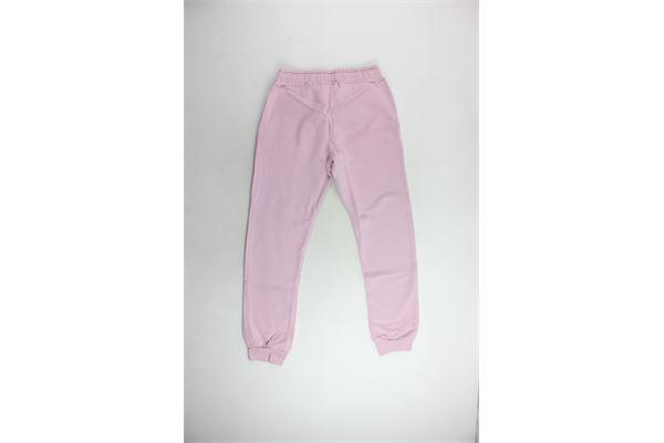 pantalone tuta felpato tinta unita con stampa PYREX | Pantaloni | 18IPB34264ROSA