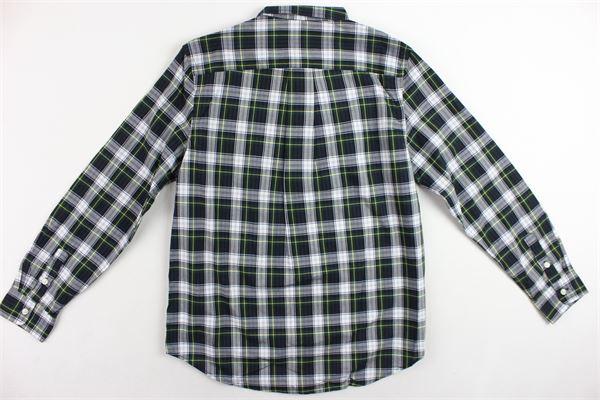 camicia in cotone fantasia a quadri RALPH LAUREN | Camicie | 323712271002VERDE