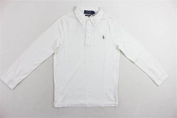 RALPH LAUREN   Polo Shirts   663CW379CWA1000BIANCO