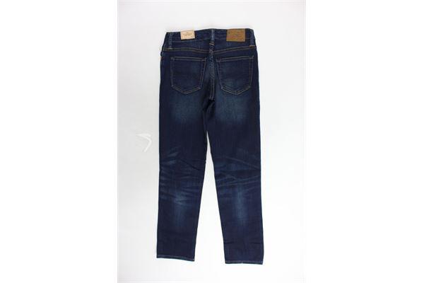 jeans tinta unita 5 tasche RALPH LAUREN | Jeans | B24XZFS8XYFS8BLU