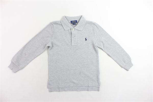 RALPH LAUREN   Polo Shirts   XZFGNXYFGNXWFR1GRIGIO