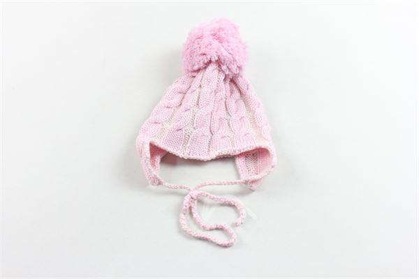 cappello in lana con pon pon REGINA BY ANGELA MAFFEI | Cappelli | 330ZA29MROSA