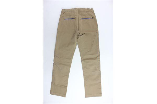 pantalone elastico in vita tinta unita profili in contrasto REPLAY | Pantaloni | SB9371BEIGE