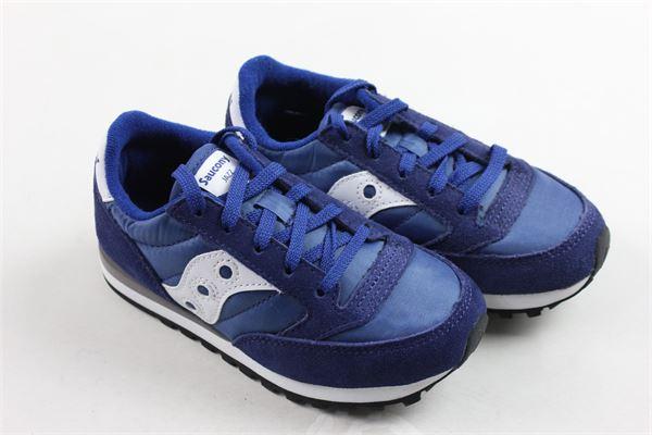 sneakers bassa allacciata tinta unita SAUCONY | Scarpe | SC55996BLU