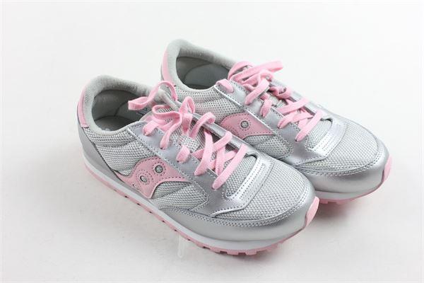 sneakers bassa allacciata bicolore SAUCONY | Scarpe | SK161584GRIGIO
