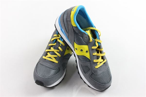 sneakers bassa allacciata profili in contrasto SAUCONY | Scarpe | SK261569GRIGIO