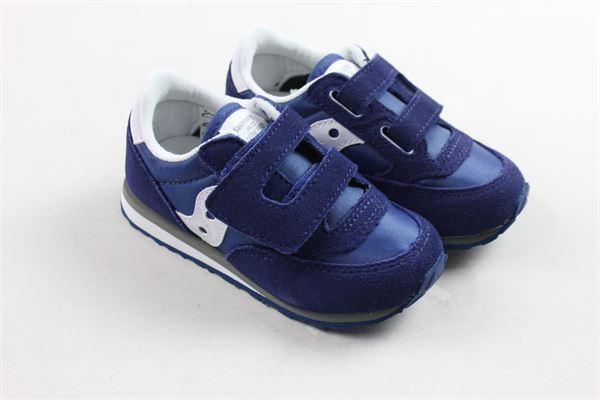 sneakers bassa con strappi tinta unita SAUCONY | Scarpe | ST35410ABLU