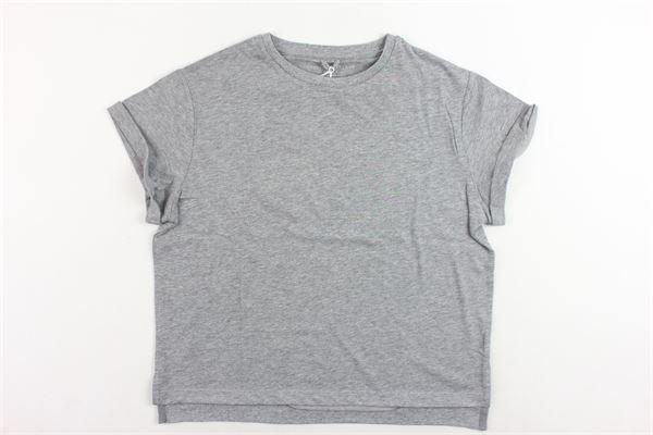 t-shirt mezza manica tinta unita modello oversize STELLA McCARTNEY | T-shirts | 471673SJJI41464GRIGIO
