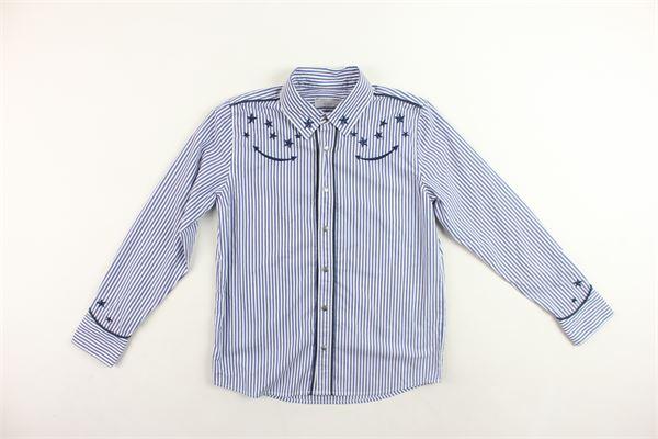camicia manica lunga a righe STELLA McCARTNEY | Camicie | 518808SLK204065BLU