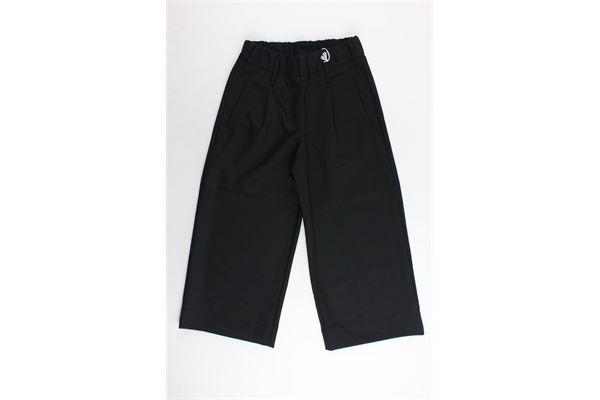 pantalone vita alta a palazzo elastico in vita SIMONETTA | Pantaloni | 6279306ENENERO