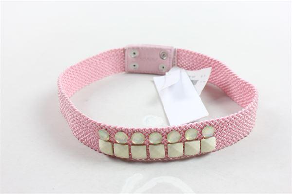 cintura con applicazioni SIMONETTA | Cinture | Y10171Y9325500ROSA