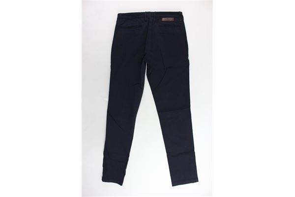 pantalone tasca america gabardine tinta unita SIVIGLIA | Pantaloni | S-029-P010J-10124A-029BLU