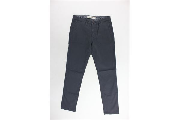 pantalone tasca america gabardine tinta unita SIVIGLIA | Pantaloni | S-029-P010J-10124A-029GRIGIO
