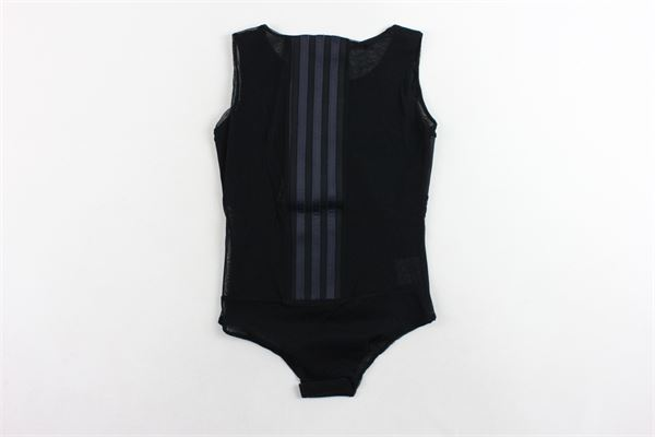 body giromanica in velo bande adidas SOFIA | Body | BODY52NERO