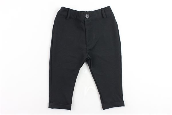 pantalone tinta unita elastico in vita tasca a filo STAY STREET | Pantaloni | PB805NERO
