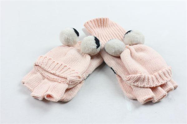 guanti in lana con occhi STELLA McCARTNEY | Guanti | 471661SJM525769ROSA