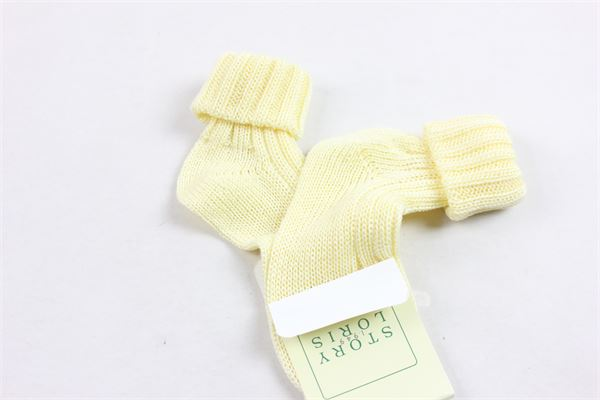 calzini corti tinta unita in filo d'ecosse STORY LORIS | Calzini | CALZINISTORYLORIS1GIALLO