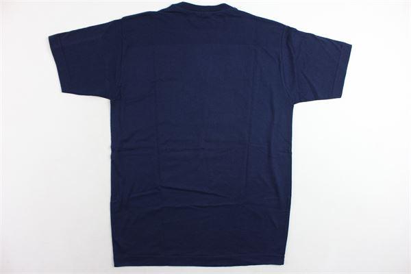t-shirt mezza manica tinta unita con stampa T-SHIRT T-SHOPS | T-shirts | T-SHIRTT-SHOP11BLU