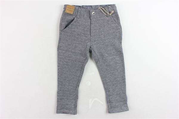 pantalone morbido tasca america girovita regolabile microfantasia TIMBERLAND | Pantaloni | T04903/070GRIGIO