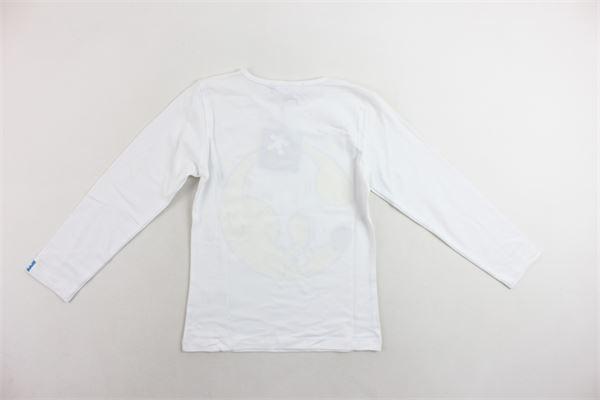shirt manica lunga tinta unita con stampa TOY.MOY. | Shirts | G15CLG37BIANCO
