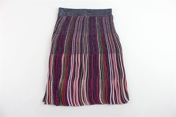 gonna lunga in lurex TWINSET   Gonne   GA83KQ/1MULTICOLOR