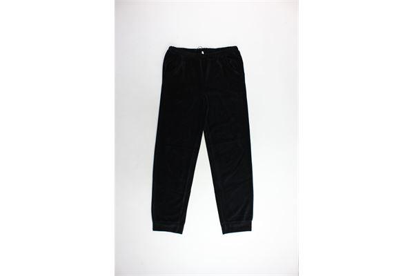 pantalone tuta in ciniglia TWINSET | Pantaloni | IA83QQNERO