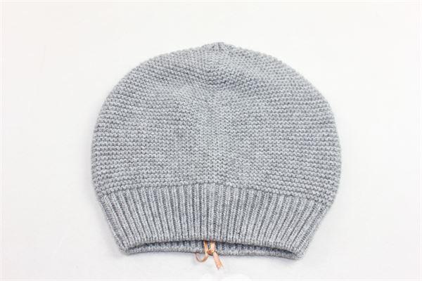 cappello in lana tinta unita VIA ELISA | Cappelli | 92500GRIGIO
