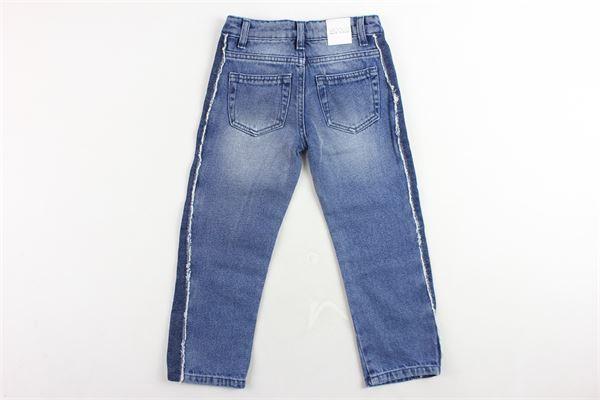 jeans 5 tasche tinta unita VICOLO | Jeans | 3141D0032BLU