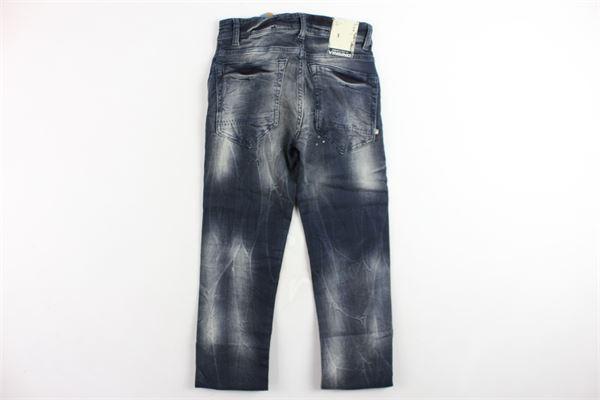 jeans 5 tasche girovita regolabile con finti strappi VINGINO | Jeans | DAVI BOYSBLU