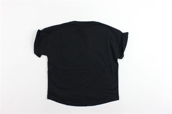 maxi t-shirts tinta unita con stampa WHITE KIDS | T-shirts | WH0202USNERO