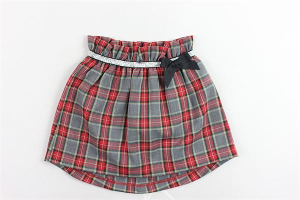 X-AURA | Skirts | GONNEX-AURA1ROSSO