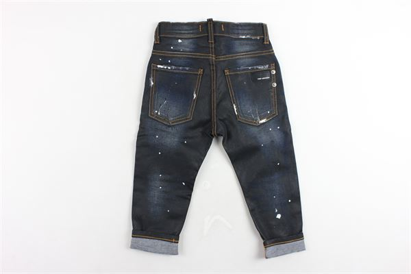 jeans 5 tasche tinta unita con girovita regolabile YES LONDON | Jeans | J05NERO
