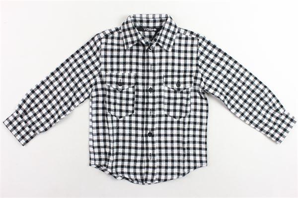 camicia manica lunga in flanella fantasia a quadri YOSHI | Camicie | NF0093/BONERO