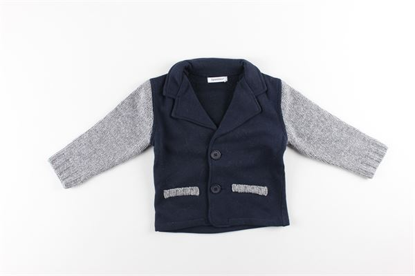 giacca bicolore 3 POMMES | Giacche | 3G40023BLU