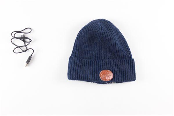 cappello tinta unita con connessione bluetooth 80DBORIGINAL | Cappelli | BT-COLDBLU