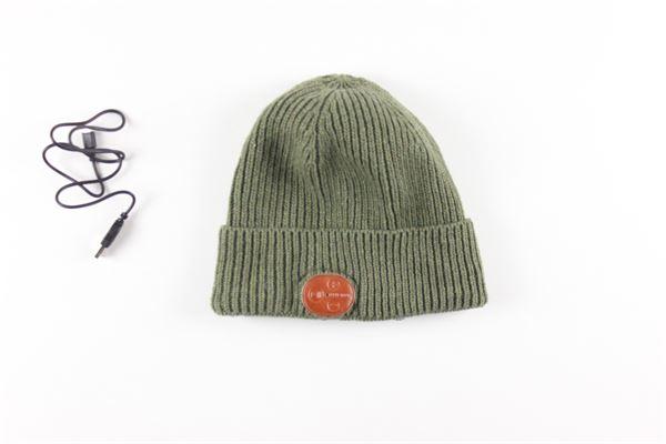 cappello tinta unita con connessione bluetooth 80DBORIGINAL | Cappelli | BT-COLDVERDE