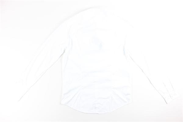camicia manica lunga tinta unita AGLINI | Camicie | 106074BIANCO