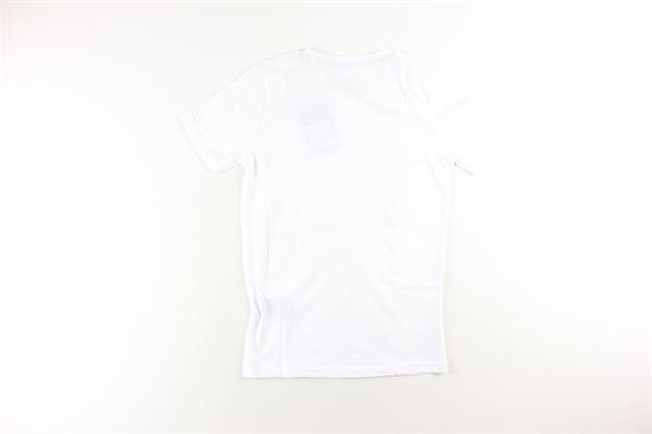 t-shirt tinta unita con stampa ALPHA INDUSTRIES | T-shirts | 126703BIANCO