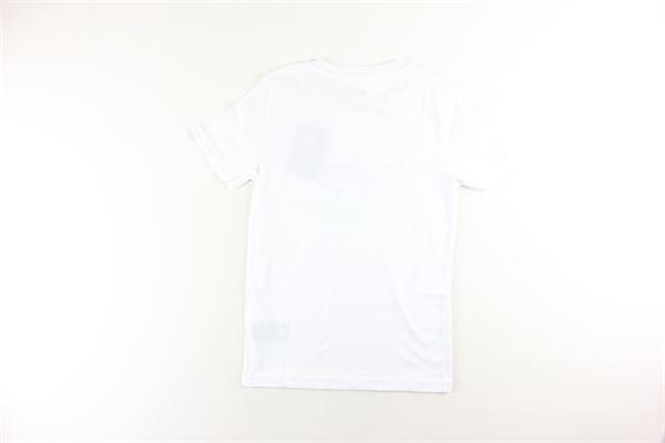 t-shirt tinta unita con stampa ALPHA INDUSTRIES | T-shirts | 196703BIANCO