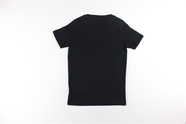t-shirt tinta unita con stampa ALPHA INDUSTRIES | T-shirts | 196703NERO
