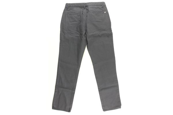 pantalone tint unita girovita regolabile ARMANI JUNIOR   Pantaloni   3Z4P04BLU