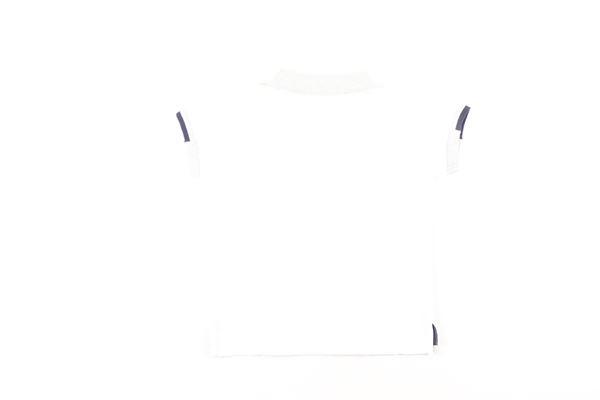polo mezza manica tinta unita con colletto in constrasto ARMANI JUNIOR   Polo   3ZHF01BIANCO