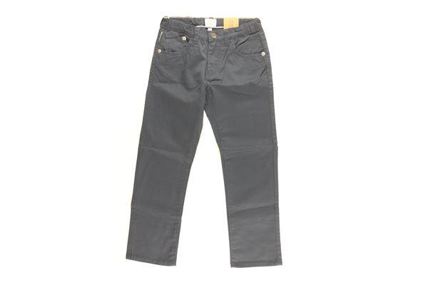 pantalone tinta unita con girovita regolabile ARMANI JUNIOR   Pantaloni   AXJ05BLU