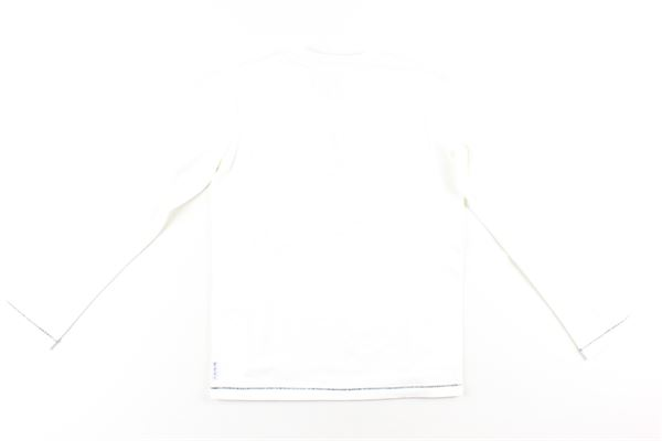 shirt tinta unita con stampa ARMANI JUNIOR   Shirts   BXH08BIANCO