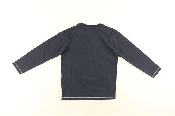 shirt tinta unita con stampa ARMANI JUNIOR   Shirts   BXH08BLU