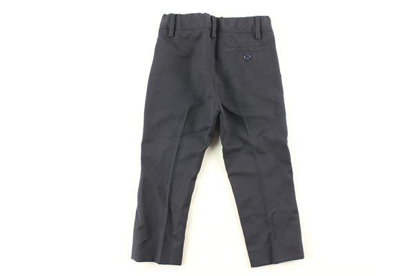 pantalone tinta unita con girovita regolabile ARMANI JUNIOR   Pantaloni   UJCFBLU
